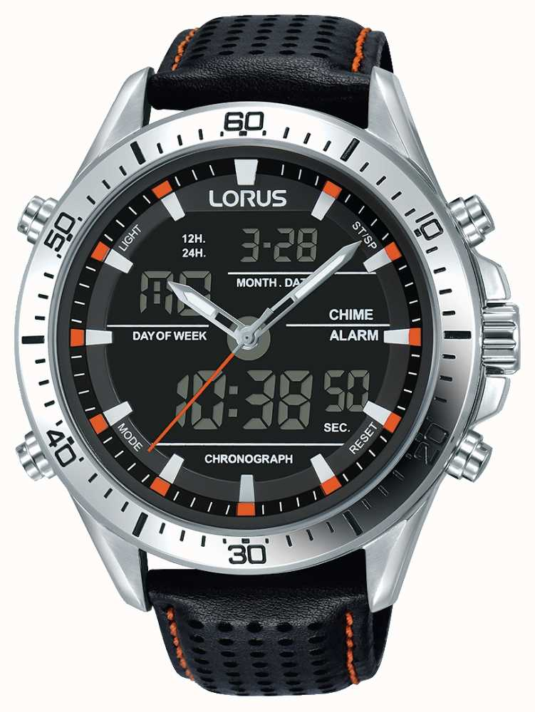 lorus mens sport analogue digital rw637ax9