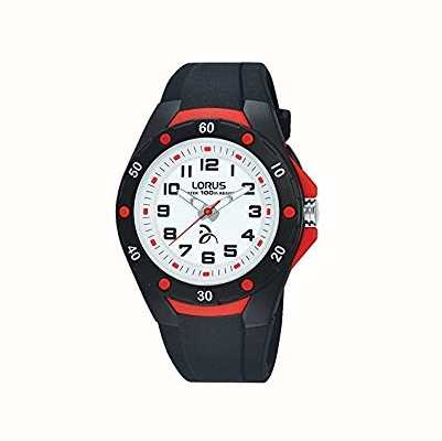 Lorus Novak Djokovic Foundation Kids Watch Black R2363LX9