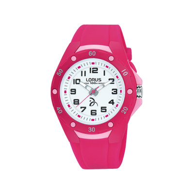Lorus Novak Djokovic Foundation Kids Watch Pink R2371LX9