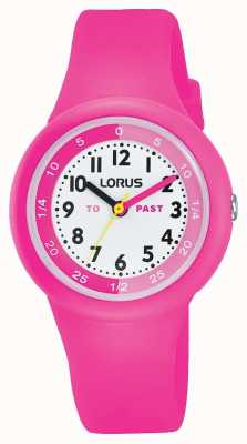 "Lorus Kids ""past"" ""to"" Watch Pink Silicone RRX99EX9"