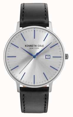 Kenneth Cole Mens Two Tone Steel Bracelet Silver Date Dial KC15095003