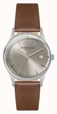 Kenneth Cole Womans 35mm Stainless Steel Case Silver KC15109005