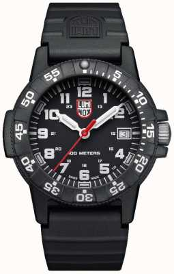 Luminox Sea Turtle 0300 Series Black PU Strap XS.0301.L