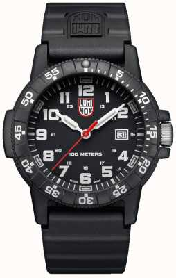 Luminox Sea Turtle Giant 0320 Series Black PU Strap XS.0321.L