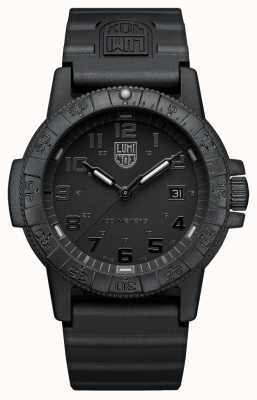 Luminox Sea Turtle Giant 0320 Series Blackout PU Strap XS.0321.BO.L