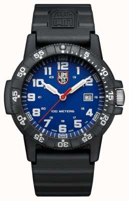 Luminox Sea Turtle Giant 0320 Series Blue Dial Black PU Strap XS.0323.L
