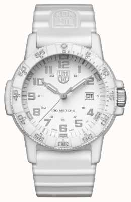Luminox Sea Turtle Giant 0320 Series White Out White Silicon Strap XS.0327.WO