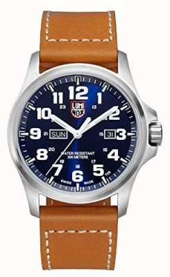 Luminox Atacama Field Day Date 1920 Series Blue Dial Leather Strap XL.1924