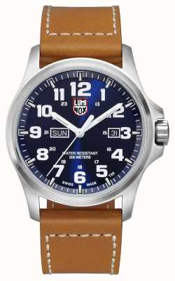 Luminox Atacama Field Day Date 1920 Series Blue Dial Brown Leather XL.1924