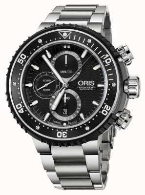 Oris Prodiver 1000m Automatic Chronograph Titanium 01 774 7727 7154-SET