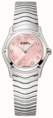 EBEL Womens Classic 12 Diamond Set Mother Of Pearl 1216279