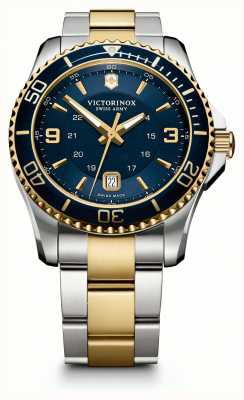 Victorinox Swiss Army Mens Maverick | Two-Tone Stainless Steel/PVD Strap | 241789