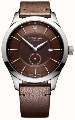 Victorinox Swiss Army Mens Alliance Large Brown Leather 241766