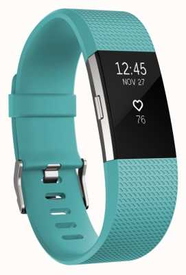Fitbit Charge 2 - Teal, Small FB407STES-EU