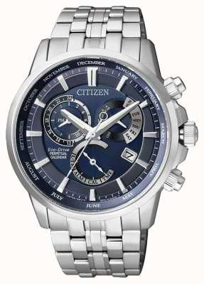 Citizen Mens Eco-drive Perpetual Calendar Stainless Steel BL8140-80L