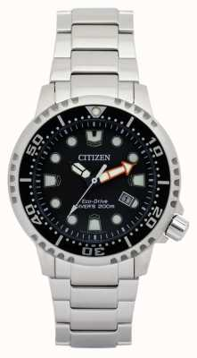 Citizen Mens Eco-drive Promaster Divers Stainless Steel BN0150-61E