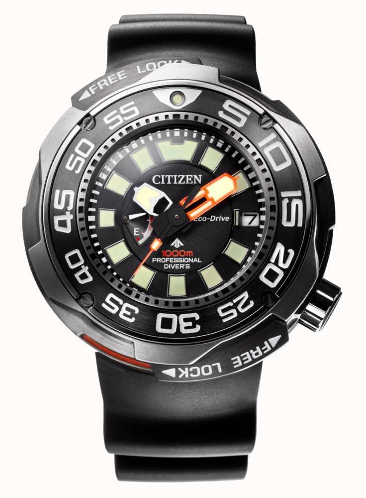 7e5f5c266 Citizen Promaster Marine 1000M Eco-Drive Divers Rubber Strap BN7020 ...
