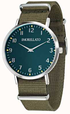 Morellato Mens Vela Green Dial/strap Watch R0151134004