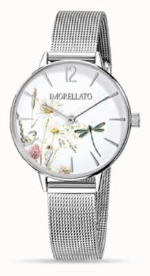 Morellato Womens Ninfa Stainless Steel Mesh Watch R0153141507