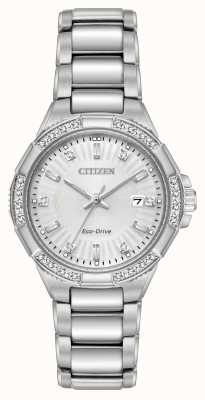 Citizen Riva Eco-Drive S/Steel Diamond Set EW2460-56A