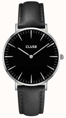 CLUSE La Boheme Silver Case black Dial/black Strap CL18201