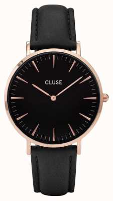 CLUSE La Boheme Rose Gold Case Black Dial CL18001 CW0101201011