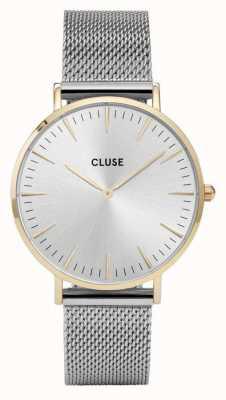 CLUSE La Boheme Gold Case Silver Dial/silver Mesh Strap CL18115