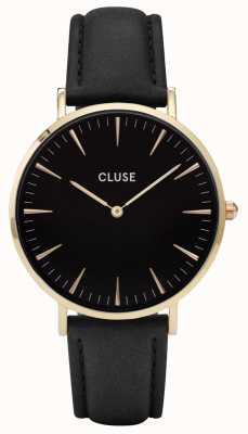 CLUSE La Boheme Gold Case Black Dial/black Strap CL18401