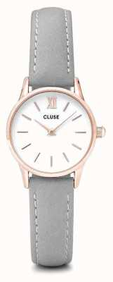 CLUSE La Vendette Rose Gold Case White Dial/grey Strap CL50009