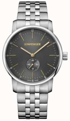 Wenger mens Urban Classic  Steel Bracelet watch 01.1741.106