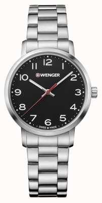 Wenger womens Avenue Stainless Steel Bracelet Watch 01.1621.102