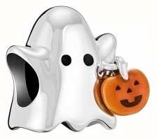 Chamilia Ghost With Enamel Pumpkin 2020-1041