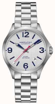 Hamilton Khaki Air Race 38mm Stainless Steel H76225151