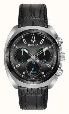 Bulova Mens Sport Curv Chronograph Black 98A155
