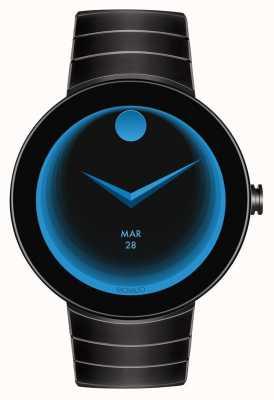 Movado Connect Black case black IP coated smartwatch 3660015