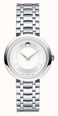 Movado Womans 1881 Quartz Silver Tone Bracelet 0607098