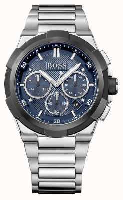 Hugo Boss Mens Supernova Chronograph Blue Dial 1513360