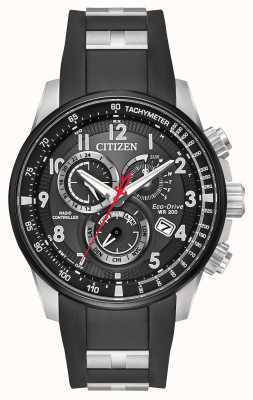 Citizen Mens Eco-Drive limited edition Radio Controlled chronograph AT4138-05E
