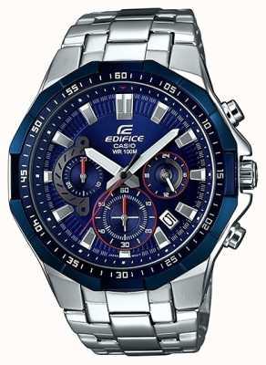 Casio Mens Edifice Blue Chronograph Watch EFR-554RR-2AVUEF