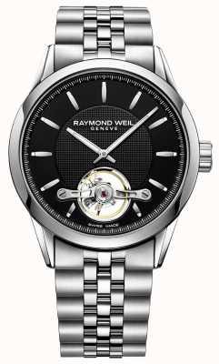 Raymond Weil Mens Freelancer Automatic Steel Bracelet 2780-ST-20001