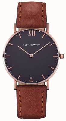 Paul Hewitt Unisex Sailor Brown Leather Strap PH-SA-R-SM-B-1M