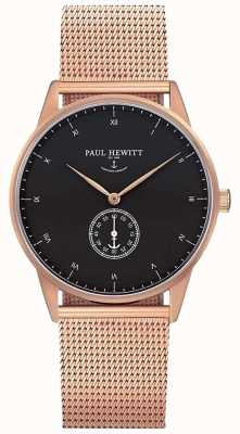 Paul Hewitt Unisex Signature Rose Gold Mesh PH-M1-R-B-4M