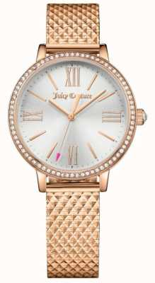Juicy Couture Womans Socialite Watch Rose Gold 1901614
