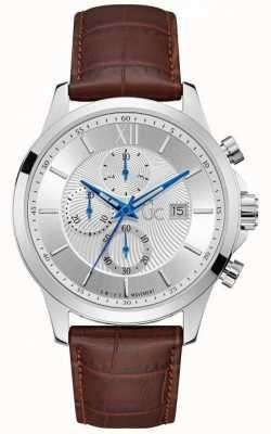 Gc Mens Executive Classic Silver Chronograph Y27002G1