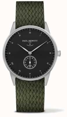 Paul Hewitt Unisex Signature Olive Fabric Strap PH-M1-S-B-20M