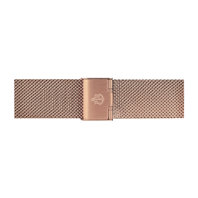 Paul Hewitt Jewellery Rose Gold Stainless Steel Mesh Bracelet 176mm PH-M1-R-4S