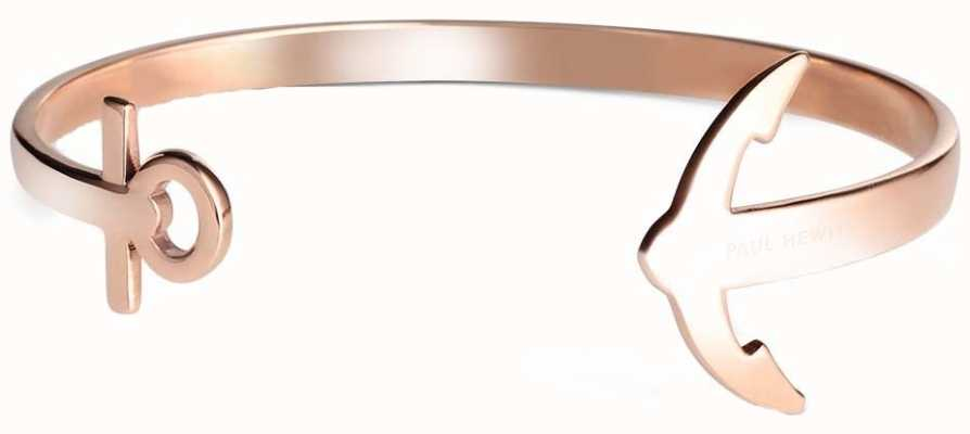 Paul Hewitt Rose Gold Anchor Cuff Medium PH-CU-R-M