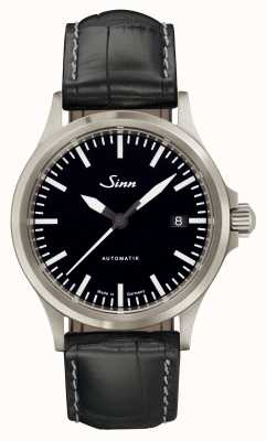Sinn 556 I Sports Sapphire Glass Black Alligator Embossed Leather 556.010-BL44201851001225403A