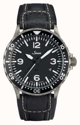 Sinn 857 Pilot Anti-Magnetic Black Chronissimo Strap Std Length 857.012