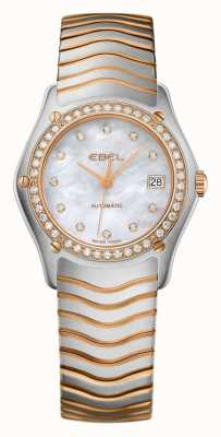 EBEL Womens Wave Two Tone Automatic Watch 1215928